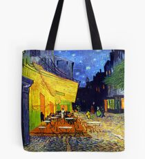 Cafe Terrace at Night - Van Gogh Tote Bag