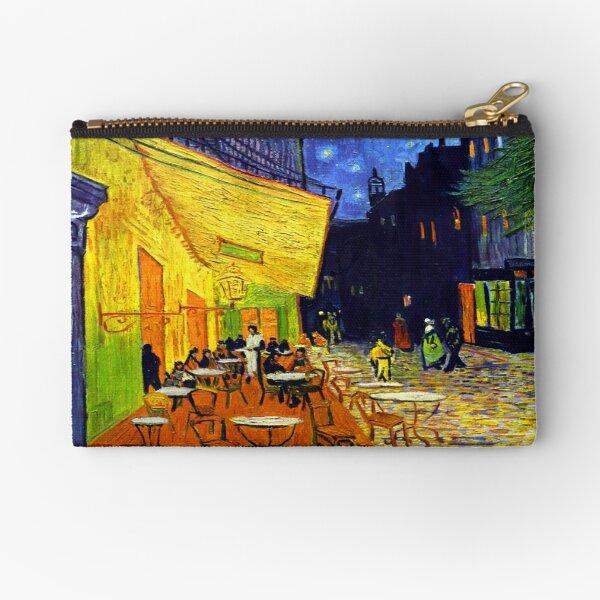 Cafe Terrace at Night - Van Gogh Zipper Pouch