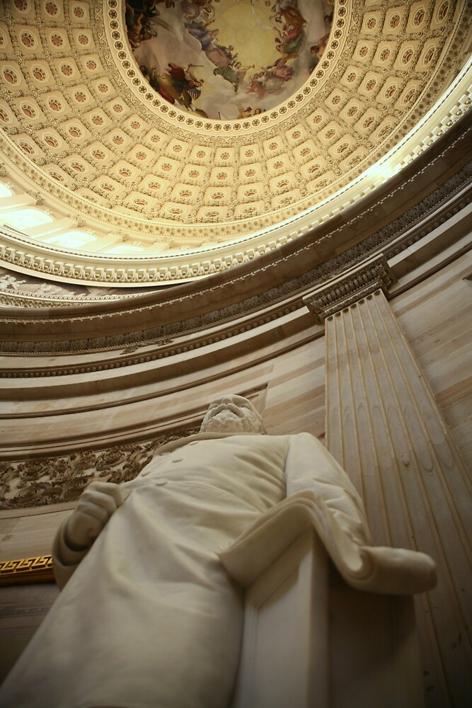 Statue and Dome of the Capital Building by katw0man