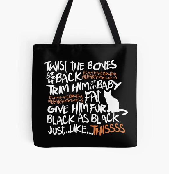 Binx Spell All Over Print Tote Bag