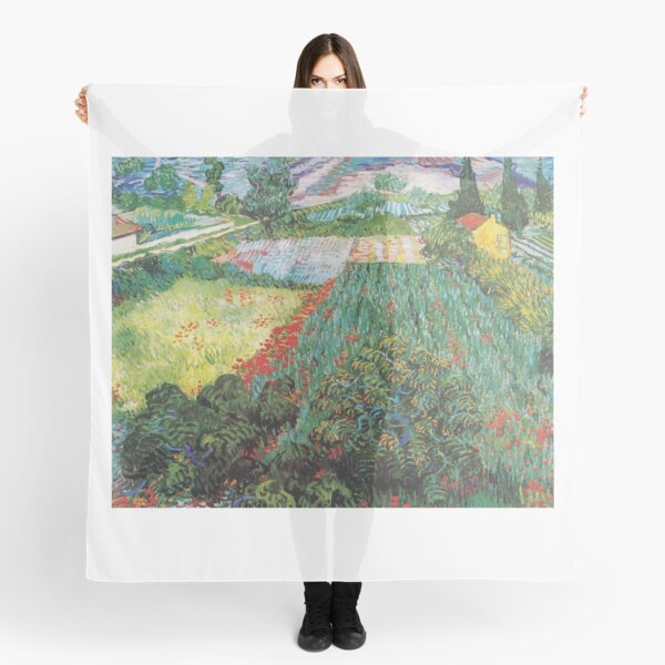 Van Gogh - Field with Poppies Scarf