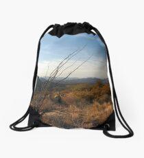 Sonoran Sundown Drawstring Bag