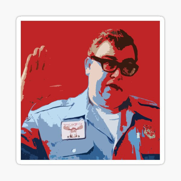 John Candy - vacation - walley world security Sticker
