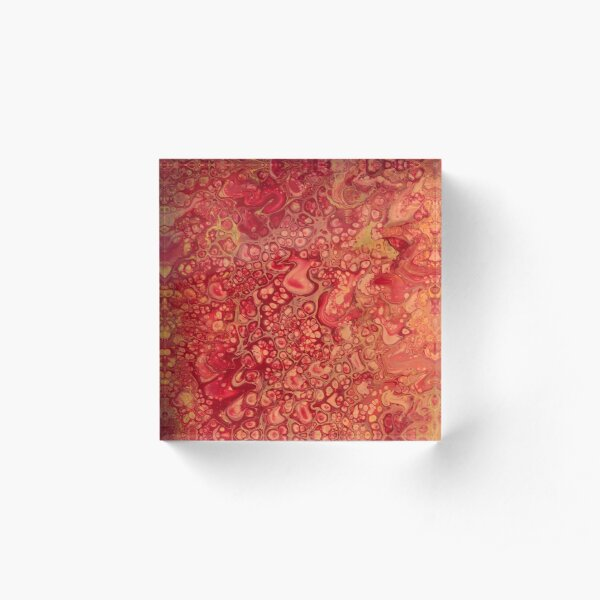 Make It Rain Acrylic Block
