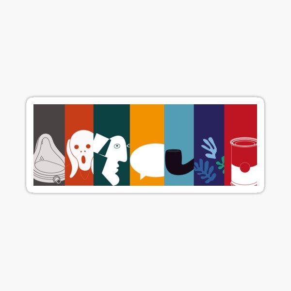 Modern art  Sticker