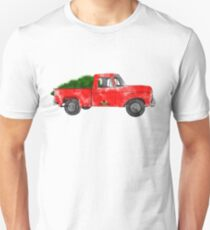 Vintage Tree Farm Truck T-Shirt