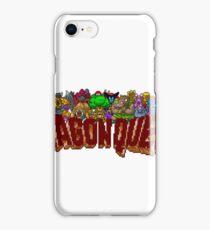 Dragon Quest (SNES) Enemies iPhone Case/Skin