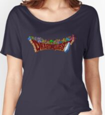 Dragon Quest (SNES) Enemies Women's Relaxed Fit T-Shirt