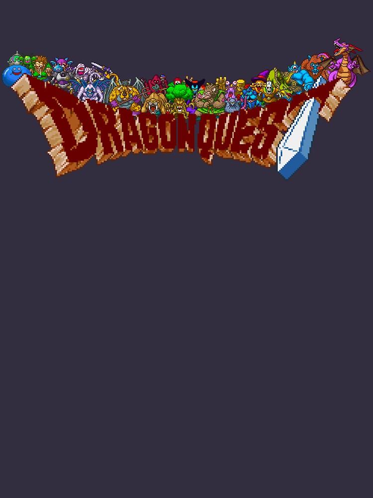 Dragon Quest (SNES) Enemies | Unisex T-Shirt