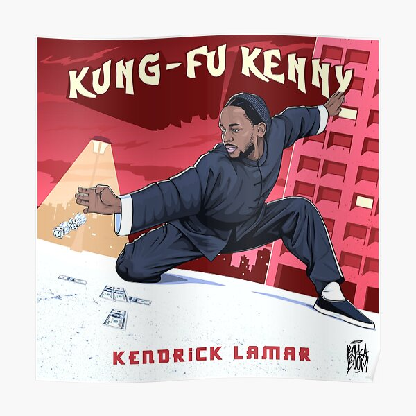 Kung Fu Kenny - without white line Poster