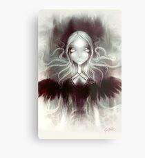 Annabel Lee - The Raven Mermaid © Kunst durch Elian Black'Mor Metalldruck