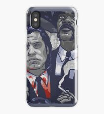 Vincent Vega,Marsellus Wallace, Mia Wallace iPhone Case/Skin