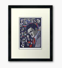 Quentin Tarantino Filmography Framed Print
