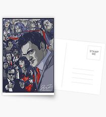 Quentin Tarantino Filmography Postcards