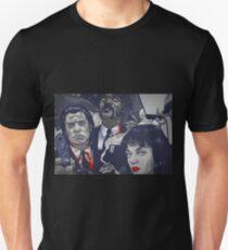 Vincent Vega,Marsellus Wallace, Mia Wallace Unisex T-Shirt