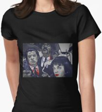 Vincent Vega,Marsellus Wallace, Mia Wallace Women's Fitted T-Shirt