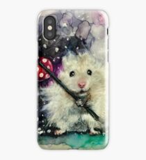 Lil' Hobo Hamster  iPhone Case/Skin