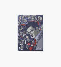 Quentin Tarantino Filmography Art Board