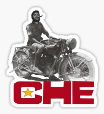 CHE GUEVERA MOTORCYCLE Sticker