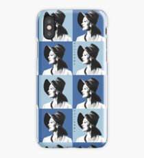 Candice Warhol Blue iPhone Case/Skin