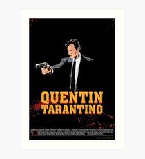 Tarantino Biography Poster Art Print