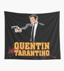 Tarantino Biography Poster Wall Tapestry