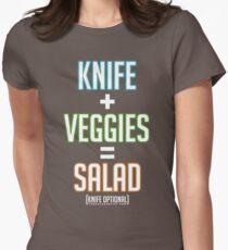 Salad Math Women's Fitted T-Shirt