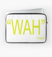 Wah Wario Laptop Sleeve