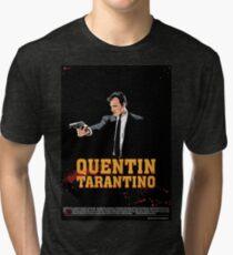 Tarantino Biography Poster Tri-blend T-Shirt