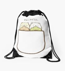 Sumikko Gurashi Pocket Drawstring Bag