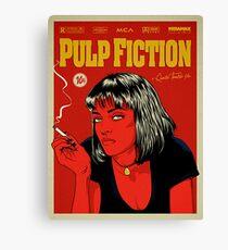 Cartel Uma Thurman, Pulp Fiction 10c Canvas Print