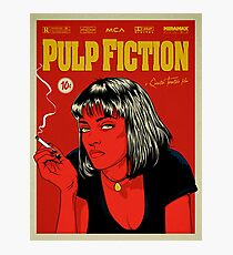 Cartel Uma Thurman, Pulp Fiction 10c Photographic Print