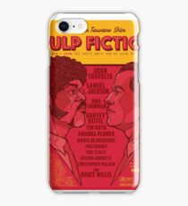 Marsellus y Vincent, Pulp Fiction cartel iPhone Case/Skin