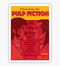 Marsellus y Vincent, Pulp Fiction cartel Sticker