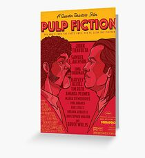 Marsellus y Vincent, Pulp Fiction cartel Greeting Card
