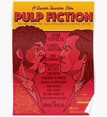 Marsellus y Vincent, Pulp Fiction cartel Poster