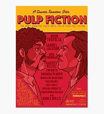 Marsellus y Vincent, Pulp Fiction cartel Photographic Print