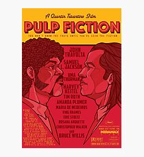 Marsellus y Vincent, Pulp Fiction cartel Photographic Print