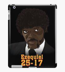 Poster Ezequiel 25-17 iPad Case/Skin