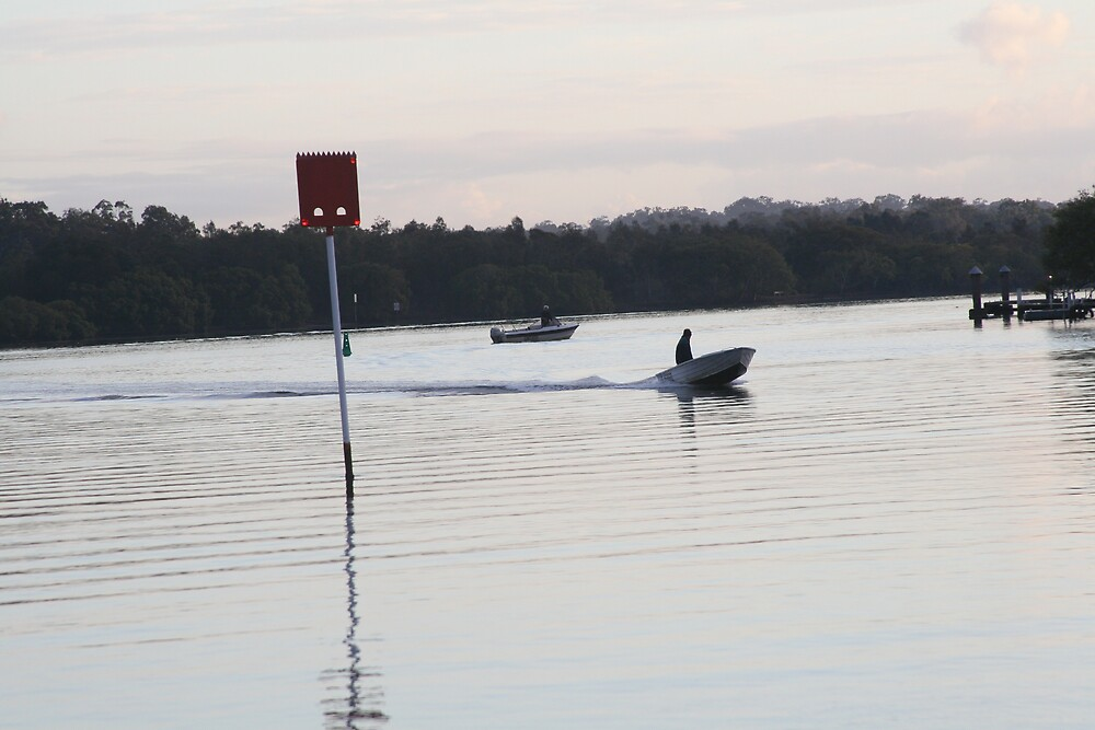 Early morning on Noosa River by Emma Tepania