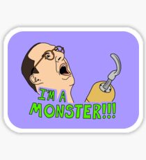 Arrested Development - Buster - Hook / I'm A Monster Sticker