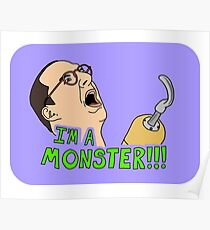 Arrested Development - Buster - Hook / I'm A Monster Poster