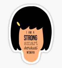 Tina Woman  Sticker