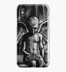ANGEL OF CUPS - black 8 iPhone Case/Skin