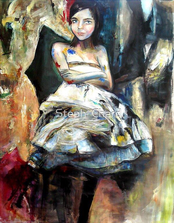 Self Portrait by Steph  Chard