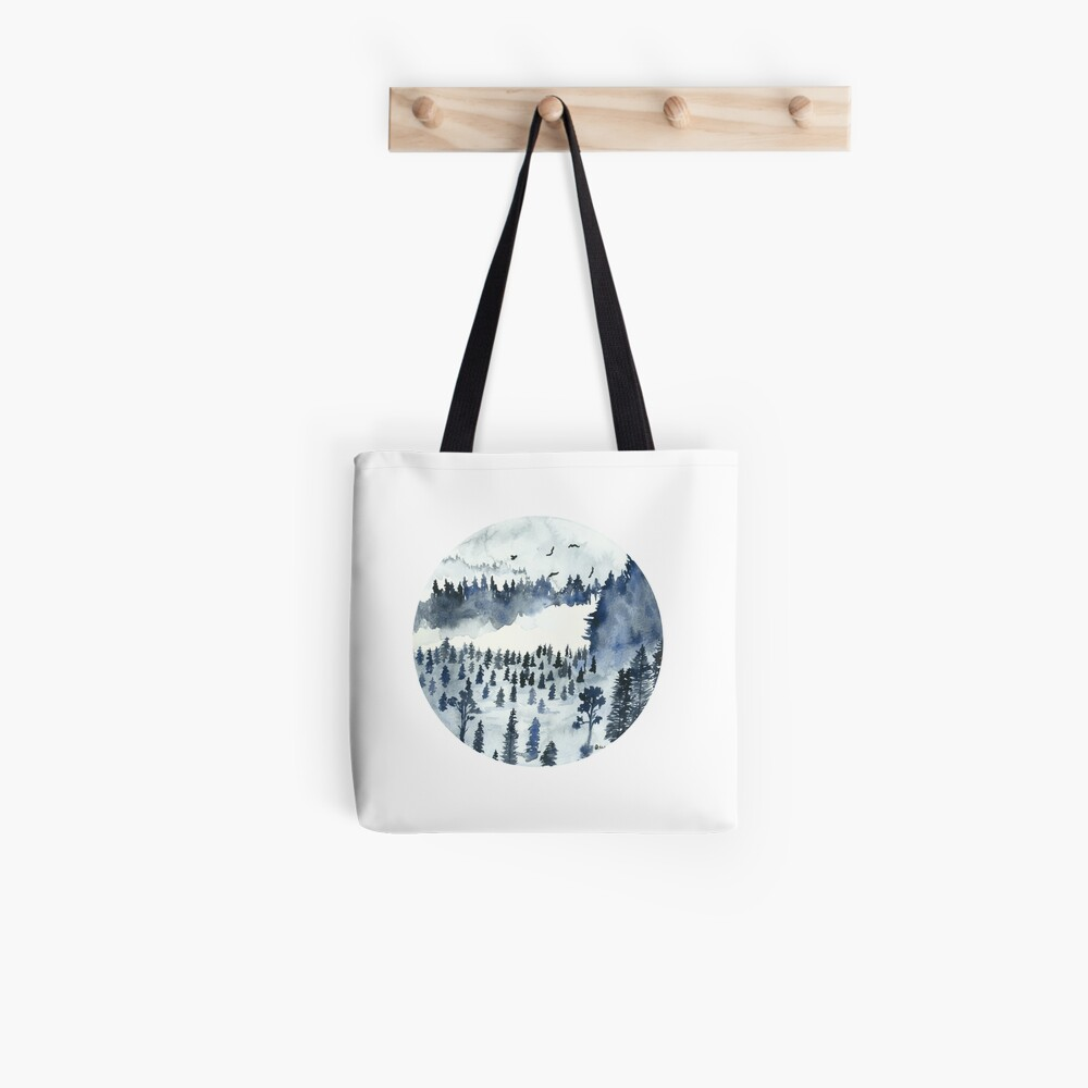 You'll Find Me In The Forest Tote Bag