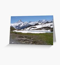 Near Bachalpense Greeting Card