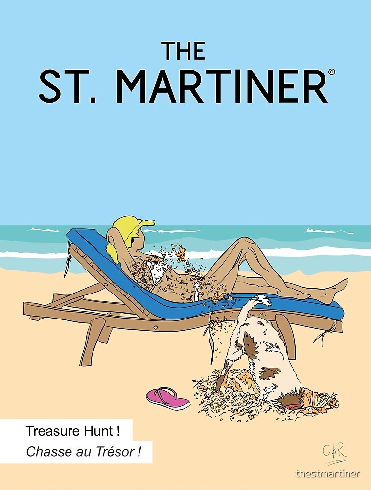 Treasure Hunt SXM by thestmartiner