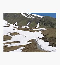 Hiking in Switzerland Photographic Print