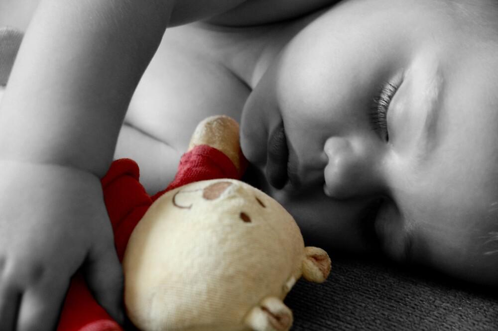 Small Child Sleeping by NrthLondonBoy